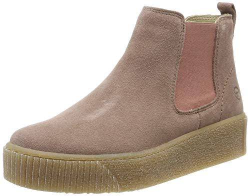 Tamaris Damen 1-1-25813-33 517 Chelsea Boots, Pink (Old Rose, 38 Eu