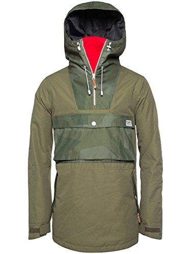CLWR Colour Wear Herren CLWR Anorak, Loden, XS