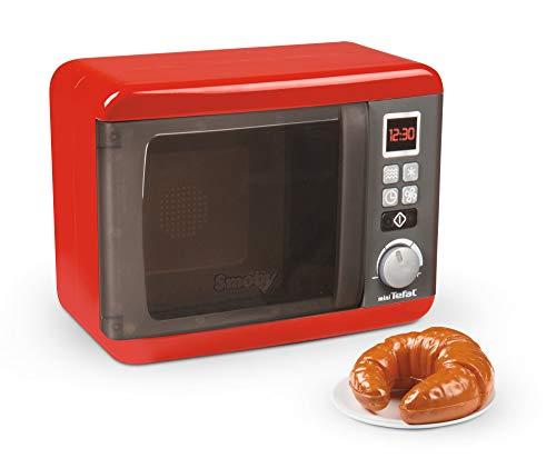 Smoby- Tefal - Microondas electrónicas, accesorios de cocina para niños a partir...