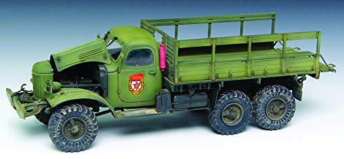 Trumpeter 01101 Maquette Camion Russe ZIL 157