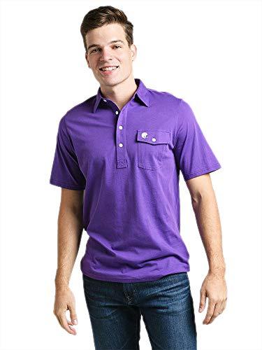 CRIQUET Limited Edition Players Shirt-L-Purple Tailgate