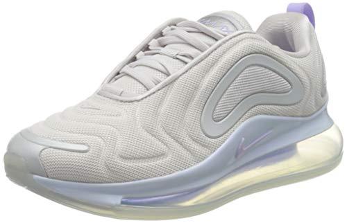 Nike W Air MAX 720 Se, Zapatilla de Correr Mujer, Vast Grey/Purple Agate/Mtlc Platinum, 37.5 EU