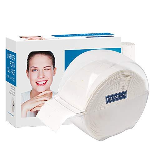 Distributeur porte rouleau avec pads de 1000 pièces déchirures en cellulose Dissolvant Vernis Gel Vernis et Acrylique Nail Art Manucure Professionnelle pour esthéticienne