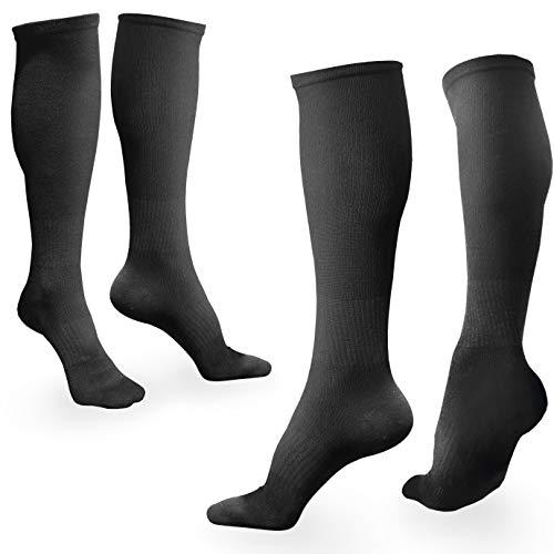 BAMS Compression Socks Women & Men- Premium Bamboo Ultra Soft No-Smell 15-20 mmHg
