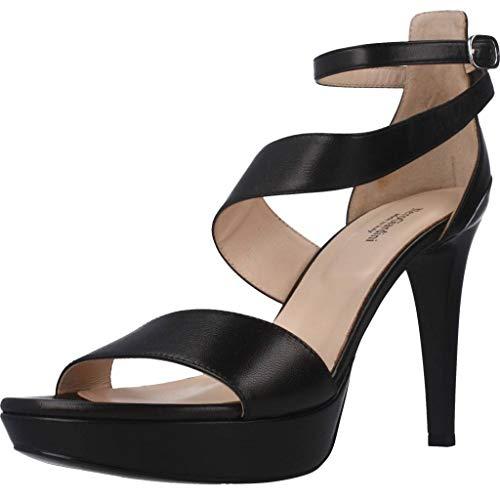 Sandalo da Donna NeroGiardini in Pelle Nero E012820D. Scarpa dal Design Raffinato. Collezione Primavera Estate 2020. EU 38