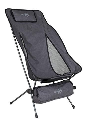 Bo-Camp Extreme-XL-klapstoel, grijs