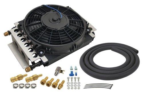 Derale 15900 Electra-Cool Remote Cooler,Black