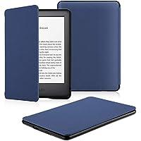 OMOTON Funda Nuevo Kindle 2019 Carcasa Nuevo Kindle 2019 Funda, PU, Sueño Automático, Cierre Magnético, Color Azul, Solo para All-New Kindle, 2019 Released
