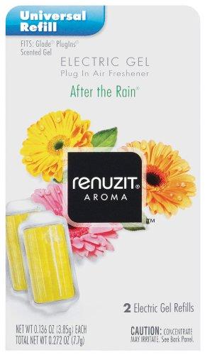 Renuzit Gel Electric Air Freshner Refill, After The Rain.27 Ounce