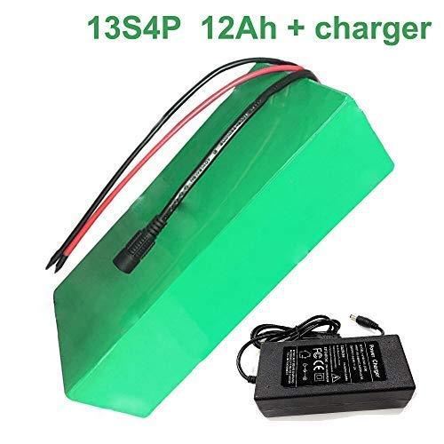 Seilylanka 48V 12Ah 13S4P Li-ion Akku E-Bike Ebike Elektrofahrrad 2508070mm Anpassung akzeptieren Mit Ladegerät Batterie