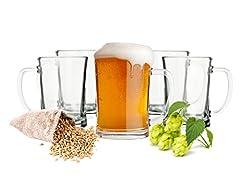 Sendez 6 Biergläser Set 0,5L