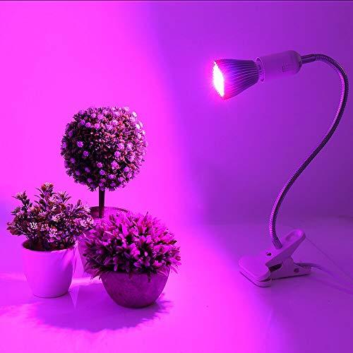 Maimoji Plante Lampe UV Interieur Spectre 30w LED Plant Grow Ampoule Fitolampy Phyto Lampe pour Jardin Intérieur Plantes Fleur