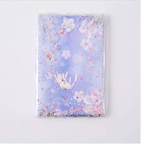 1 stks Quicksand Regenboog Paard Notebook Sparkling Twinkling Beauty Notebook Roze Paars Blauw Zilver Gift voor Meisjes Studenten briefpapier