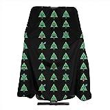 Pag Crane Emoji Albero di Natale Facce Taglio di Capelli Grembiule Mantella Copertina Barber Aceessories Bavaglino