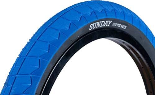 SUNDAY BIKES Current 20 V2 - Pneumatico per BMX, 20', Blu/Nero