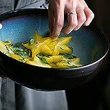 XIUYU Creativo da 9 Pollici insalataio Ciotola a casa zuppa di Ceramica Ciotola Grande capacità 2000ml Ciotola di Frutta Cottura a Ciotola Grande Tazza di Noodle tavola stoviglie stoviglie