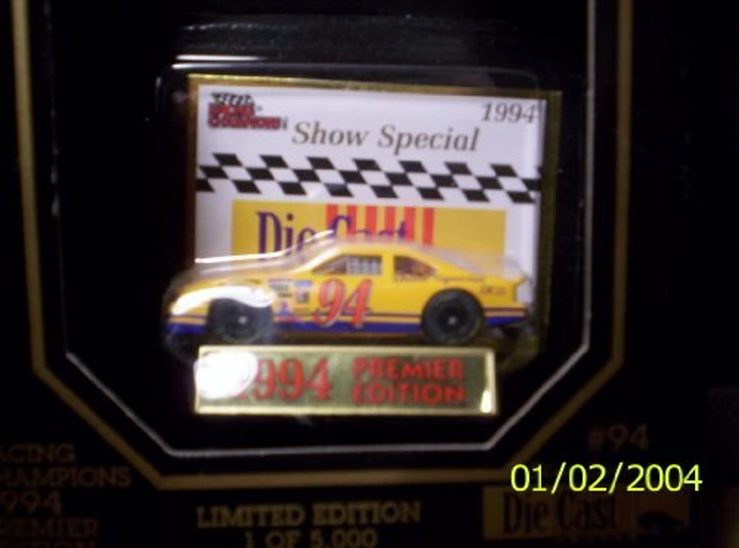 Racing Champions  94 Show Special Car 1 64 scale 1994 Premier Edition by Racing Champions