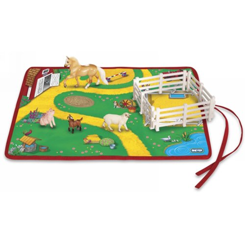 Breyer Stablemates Roll and Go Farm Animal Play Set