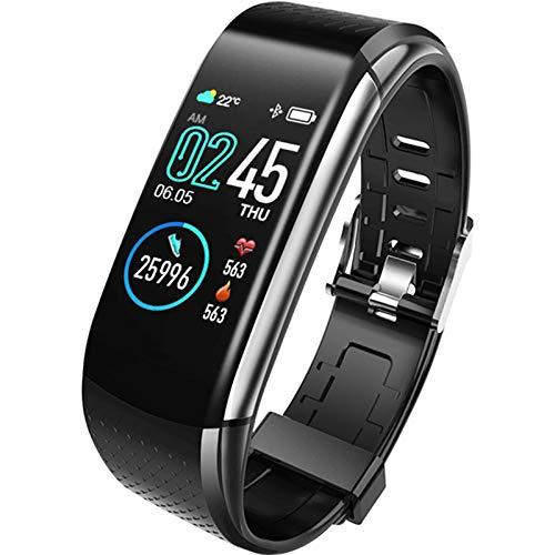 YGQNH Smart Watch, ECG + PPG Smart Bracelet Fitness Tracker 1.08 Pollici Schermo A Colori Impermeabile Cardiofrequenzimetro Orologio Sportivo, Facile da Usare