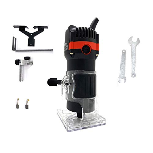 Riiai Electric Hand Wood Trimmer, Wood Router Joiners Set 220V...
