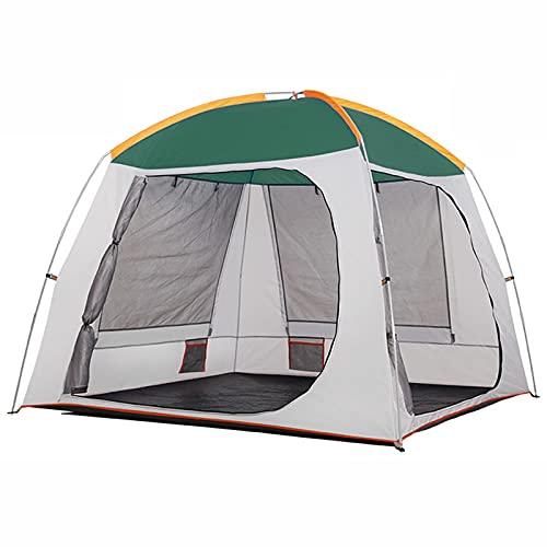 LJFLI Carpa para Camping 3-4 Personas Engrosamiento Impermeable 2 Personas Doble niños Pareja Camping
