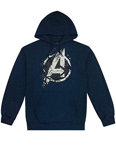 Marvel Avengers End Game Eroded A Logo Mens Hoodie