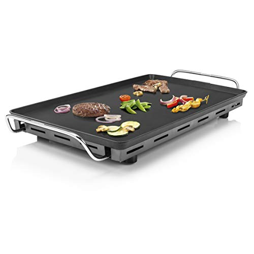 Princess 102325 Table Chef XXL, superficie de 60x36 cm, plancha Extragruesa de 4 mm de grosor, 2500 W