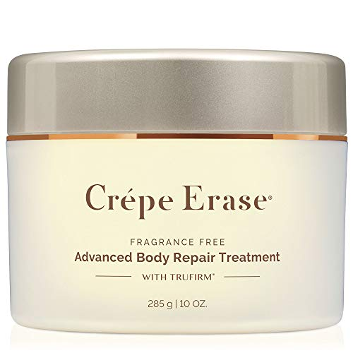 Body Firm Crepe Erase Advanced Body Repair Treatment with Trufirm Complex & 9 Super Hydrators, Fragrance Free, Full Size 10 Oz