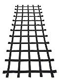 Fong 10 ft X 4 ft Climbing Cargo Net Black - Playground Cargo Net - Climbing Net for Swingset - Indoor Climbing Net - Climbing Ladder