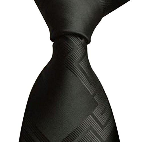 N/A. Corbata de negocios para hombre, estilo clásico, tejido jacquard, accesorio de disfraz para oficina, uso diario