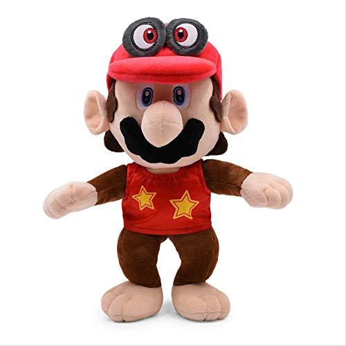 Super Mario Bros Red Odyssey Cosplay Monkey Donkey Diddy Kong Giocattoli Peluche Bambole Farcite Giocattoli Per Bambini 30Cm