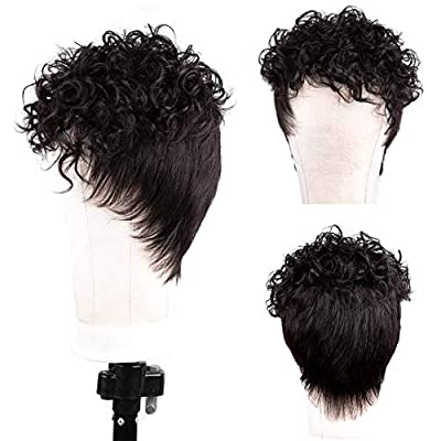 Human Hair Wigs With Bangs Short Bob Wig Straight Hair Brazilian Hair Wigs Natural Color No Lace Human Hair Wigs For Black Women Machine Made Wigs