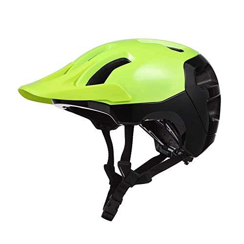 Mtb del casco de ciclista adultos Rojo All-Terrail sendero de montaña casco...