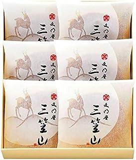 文明堂 三笠山 1箱(6個入り) どら焼き 和菓子 あんこ ギフト 贈り物 ご進物