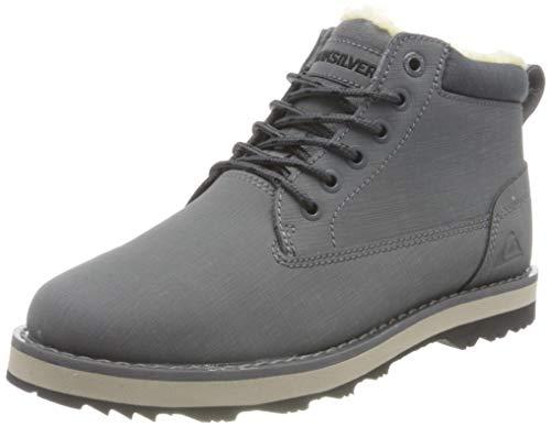 Quiksilver Mission V Boot, Racchette da Neve Uomo, Grey/Grey/Black, 45 EU