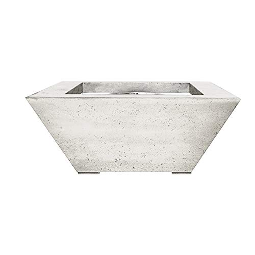 Find Bargain Prism Hardscapes Lombard Electronic Ignition Concrete Gas Fire Pit (PH-416-5NG-WBECS), ...