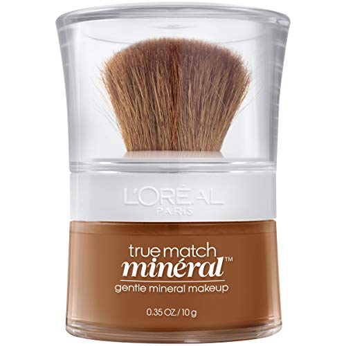 L'Oreal Paris True Match Mineral Loose Powder Foundation Nut Brown (C7) 0.35 Ounce…