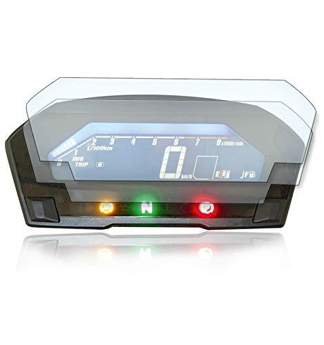 [2 Stück] Displayschutzfolie Tacho Schutzfolie geeignet für Honda NC750 X/S 1x Ultra Clear / 1x Anti Glare