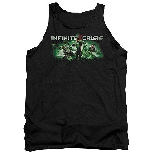 Crise Infinie - Débardeur Vert Ic Hommes, Large, Black
