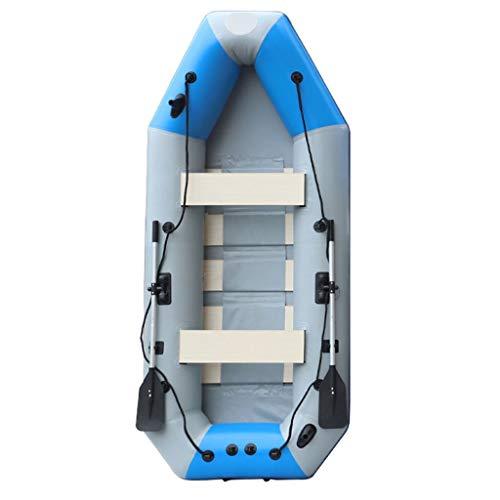 NL 2 Person aufblasbares Kajak-Set, faltbares Schlauchboot, for Lakes Pool im Freien Driften Angeln (Size : 175cm)