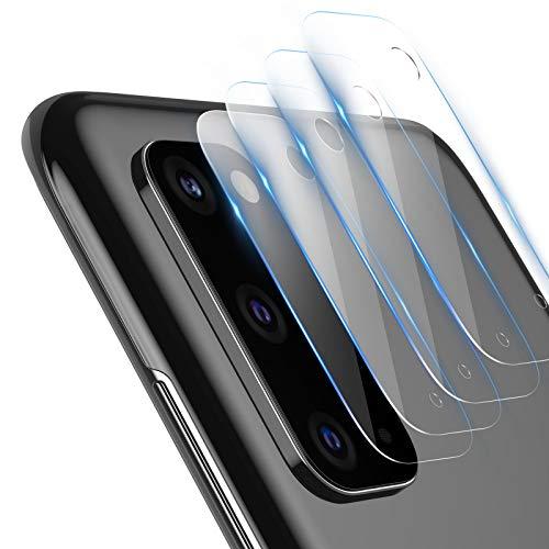 TAMOWA Vetro temperato per Camera Samsung Galaxy S20 (4 Pezzi), Lente Fotocamera Protettore 9H Durezza, Camera Lens Pellicola Vetro Fotocamera per Samsung Galaxy S20, Transparent