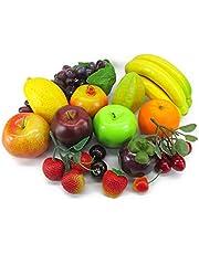 neustadt 食品 サンプル リアル 果物 15種類セット 子供 おままごと キット フルーツ くだもの 模型 ディスプレイ 食品サンプル k0110