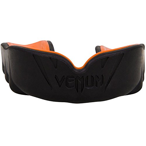 Venum Erwachsene Mundschutz Challenger, Schwarz/Orange, One size