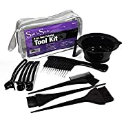 Soft 'N Style Hair Colorist Tool Kit (8 Piece)