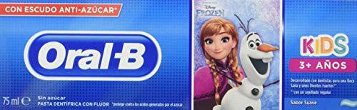 Oral-B Kids Disney (Frozen/Cars) Pasta Dentífrica, 3+ Años, 75ml, 1 unidad [modelos surtidos]