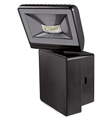 Theben 1020772-8 Watt schwarzer LED-Strahler für drinnen und draußen