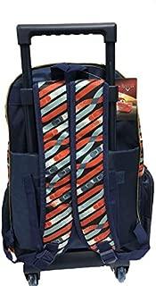 Disney Boys Cars Lightining Mcqueen 5 In 1 Set - 16 Inch School Bags