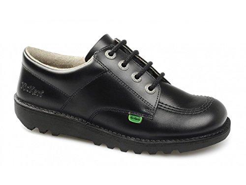 Kickers KICK LO M CORE Mens Leather Lace-Up Shoes Black 43