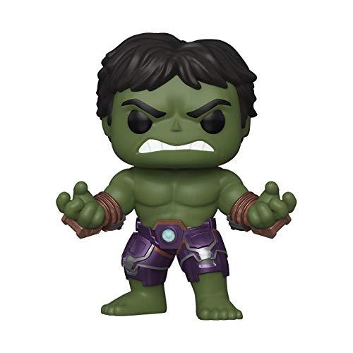 Funko - Pop! Marvel: Avengers Game - Hulk Figurina, Stark Tech Suit, Multicolor (47759)