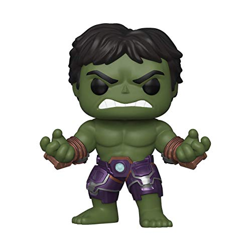 Funko- Pop Marvel: Avengers Game-Hulk (Stark Tech Suit) Figura Coleccionable, Multicolor (47759)